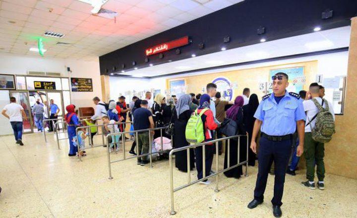 الشرطة: وصول 336 عائدًا للضفة الغربية من الأردن