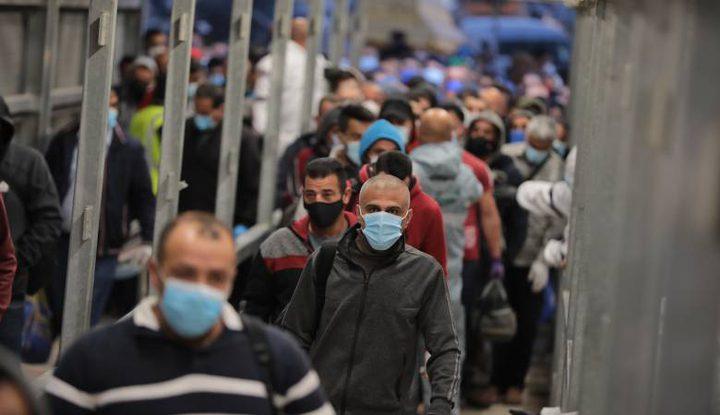 اتحاد نقابات العمال: 30 ألف عامل لا يزالون داخل اراضي عام (48)