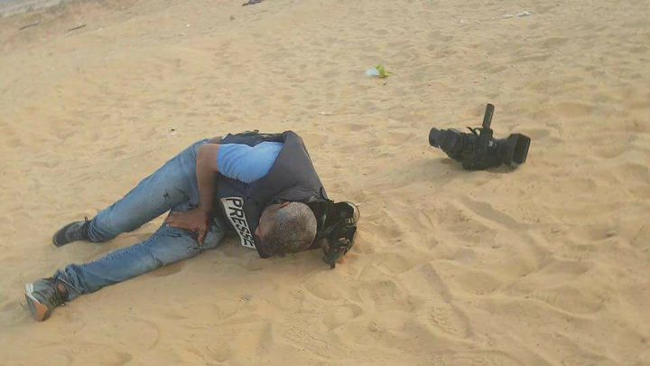 نقابة الصحفيين تستنكر استدعاء الأمن الداخلي للصحفي الجريح أبو شنب