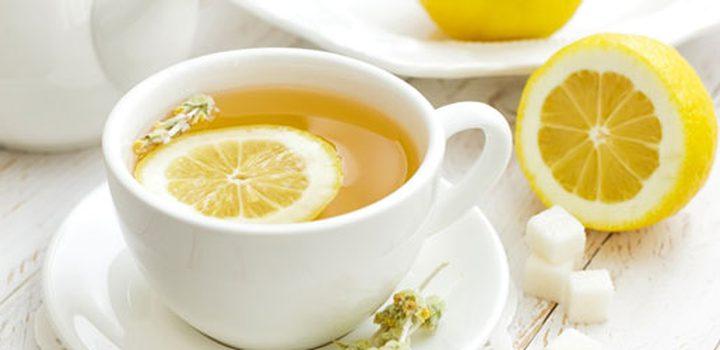 شاي الليمون يساعد على حرق الدهون