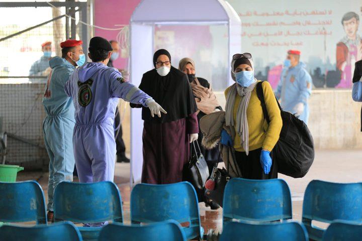 الشرطة: وصول 214 مواطنا من العالقين عبر معبر الكرامة