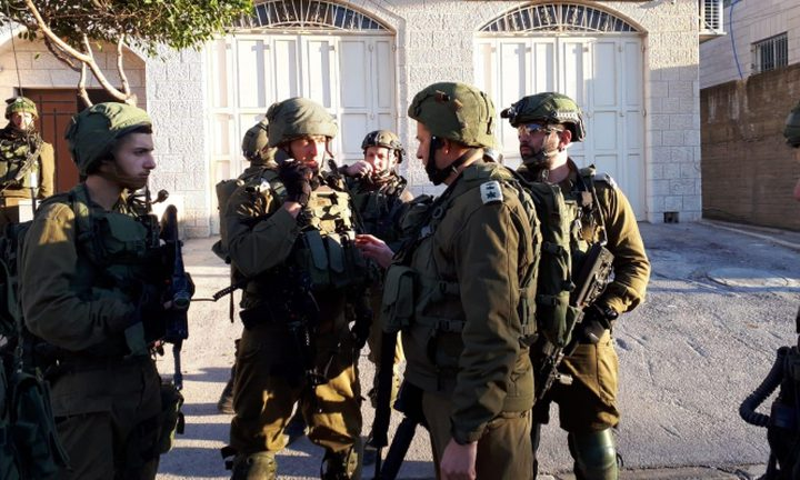 قوات الاحتلال تقتحم عدة بلدات في مناطق مختلفة بمدن الضفة