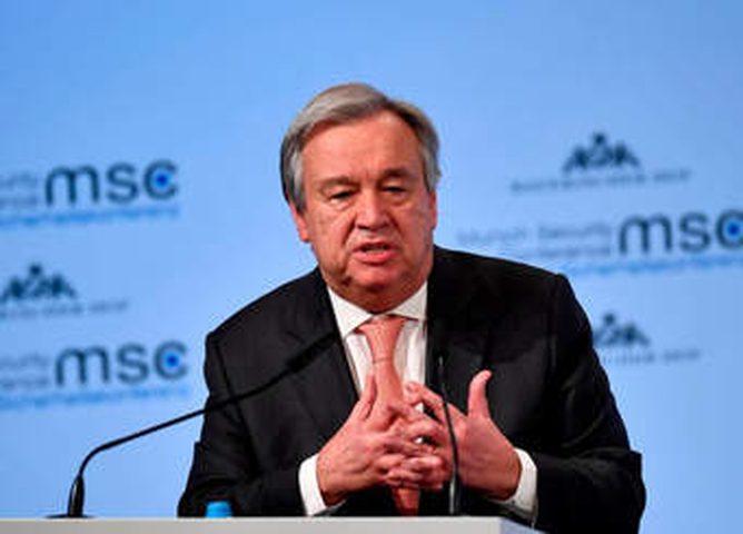 غوتيرش يؤكد موقف الأمم المتحدة الثابت بشأن ضم الأراضي المحتلة