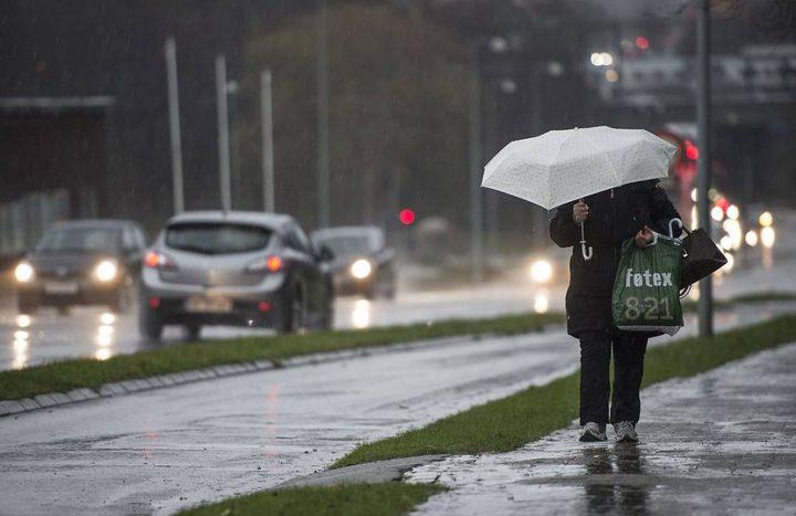 حالة الطقس: استمرار تأثير المنخفض على البلاد وامطار متفرقة