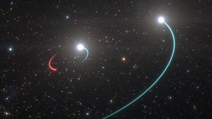 اكتشاف ثقب أسود يمكن رؤيته بالعين المجردة