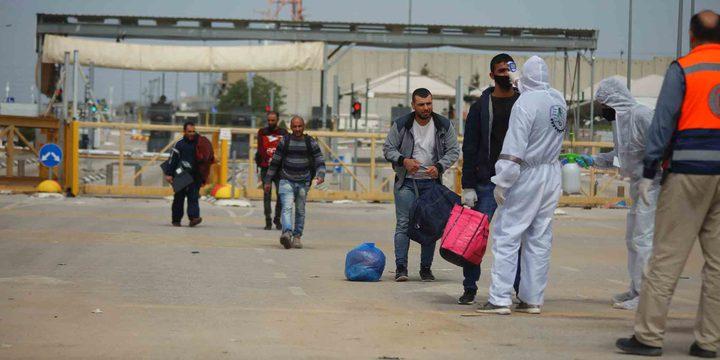 حوالي 40 الف عامل فلسطيني يمتنعون عن دخول اسرائيل