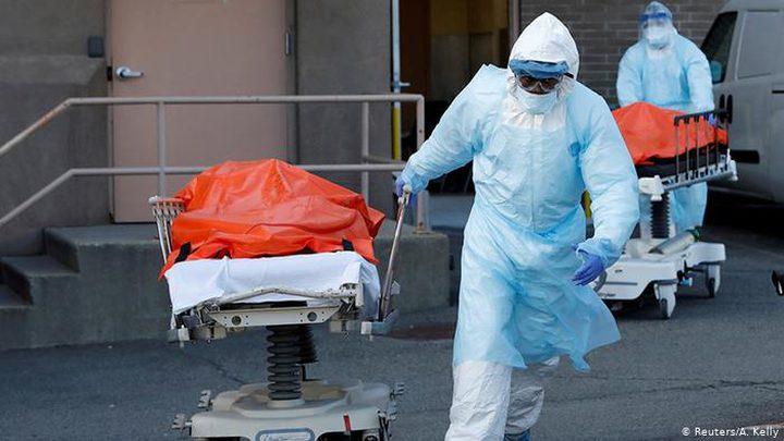 """الولايات المتحدة تسجل أكثر من1600 وفاة بـ""""كورونا"""" خلال 24 ساعة"""