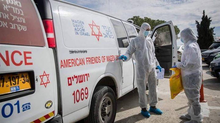 عدد الاصابات بفيروس كورونا في دولة الاحتلال يصل إلى 16444 حالة