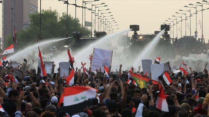 تجدد الاحتجاجات في العاصمة العراقية بغداد