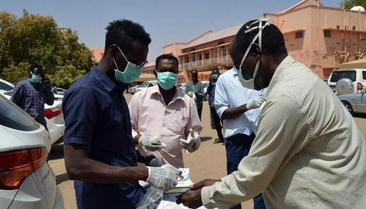 تسجيل أعلى زيادة يومية بإصابات كورونا في السودان