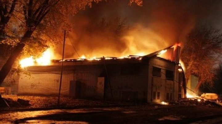 مصرع 5 أشخاص بحريق في سان بطرسبورغ