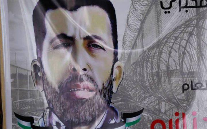 شؤون الأسرى: الأسير جنازة يشرع باضراب مفتوح عن الطعام