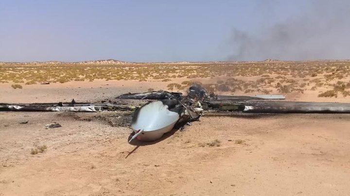 إسقاط طائرة تركية مسيرة في ليبيا