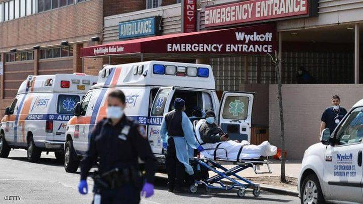 """الولايات المتحدة تسجل أرقام وفيات مضاعفة بـ""""كورونا"""""""