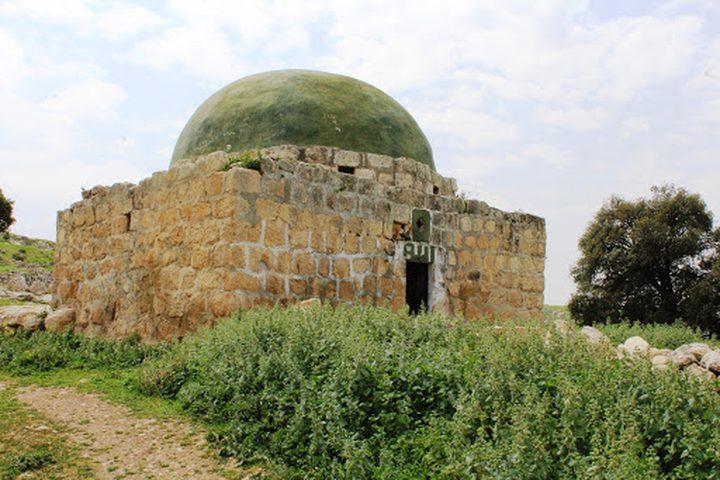 قوات الاحتلال تقتحم مقام النبي صالح في الخليل