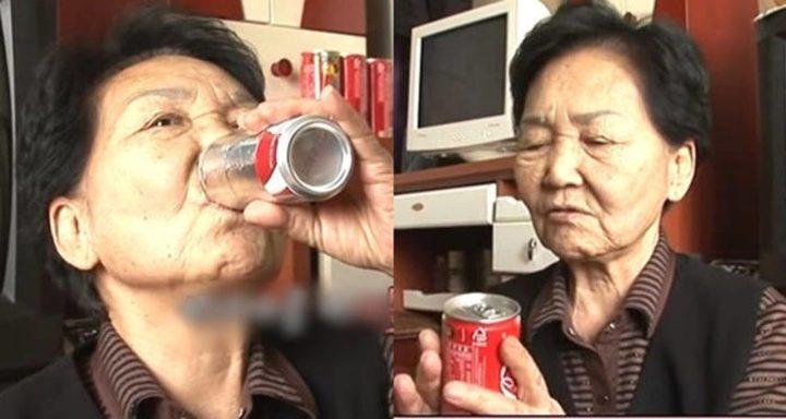 """كوريا الجنوبية.. عجوز تدمن""""الكوكاكولا"""" بسبب حزنها !"""