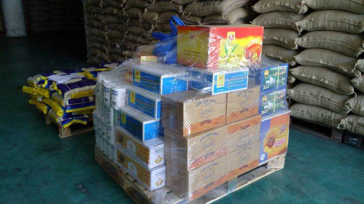 الإتحاد العام لنقابات عمال فلسطين يقدم الف طرد غذائي لمدينة جنين
