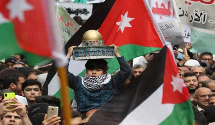 نقابات وأحزاب أردنية تدعو إلى دعم الشعب الفلسطيني