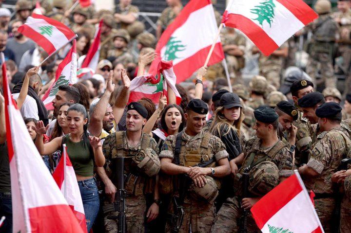 الجيش اللبناني يوقف 17 شخصا يعملون بتهريب الأموال