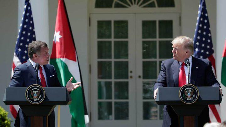 """الخارجية الأمريكية تَعلق على تهديدات ملك الأردن بشأن """"الضم"""""""
