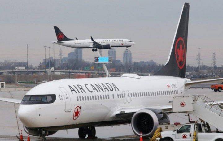 """""""طيران كندا"""" تسرح نصف موظيفها بسبب أزمة كورونا"""