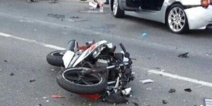 إصابة خطيرة لشاب بحادث سير ذاتي في خانيونس جنوب القطاع