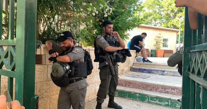 سلطات الاحتلال تغلق جمعية مقدسية وتعتقل مديرتها