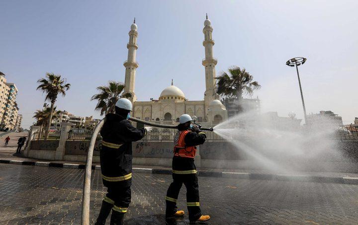 فتح المساجد بغزة تدريجيًا لأداء صلاتي الجمعة وعيد الفطر فقط