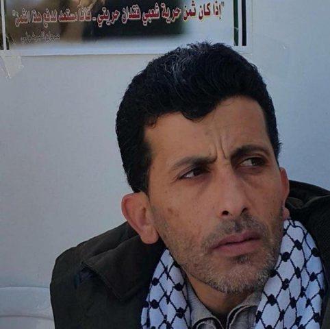 الاحتلال يعزل الاسير جنازرة المضرب عن الطعام لليوم ال8 على التوال