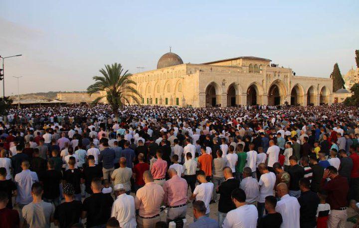 الأوقاف الإسلامية:فتح المسجد الأقصى المبارك للمصلين بعد عيد الفطر