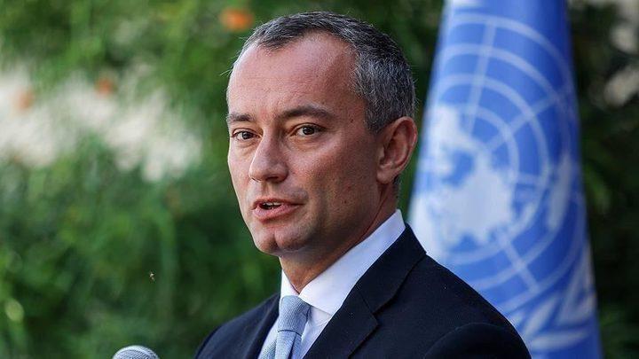ملادينوف: تهديد الاحتلالبالضم انتهاك خطير للقانون الدولي
