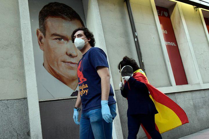 وفيات كورونا دون الـ50 يوميا لأول مرة في اسبانيا