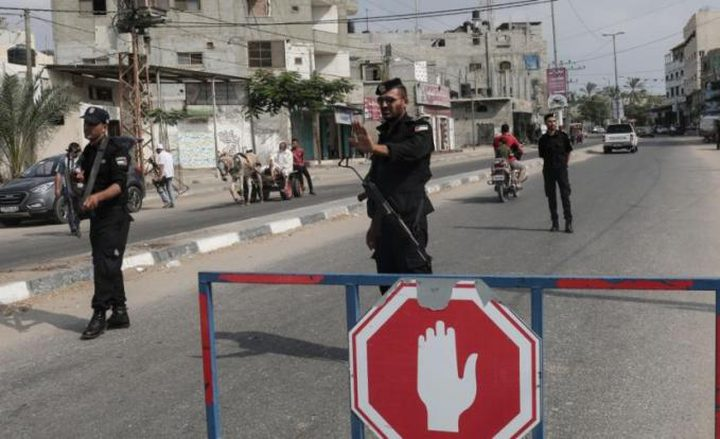 داخلية غزة  تعلن عن إجراءات احترازية خلال عيد الفطر