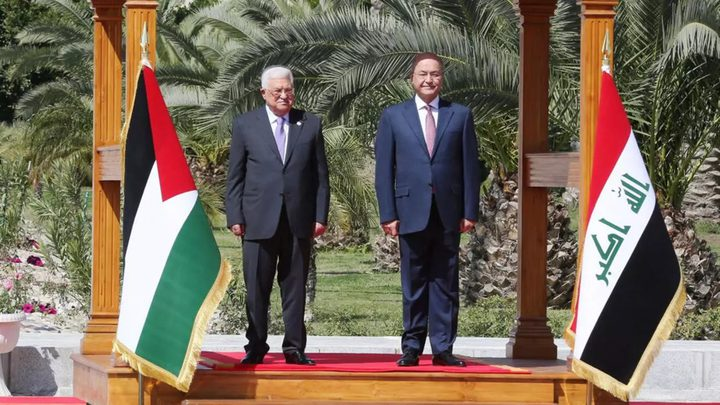 الرئيس العراقي يؤكد دعمه لمواقف الرئيس ويهنئه بحلول عيد الفطر