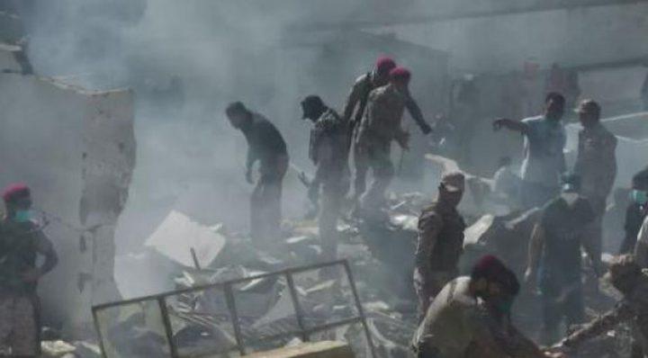 ارتفاع حصيلة قتلى الطائرة الباكستانية إلى 97