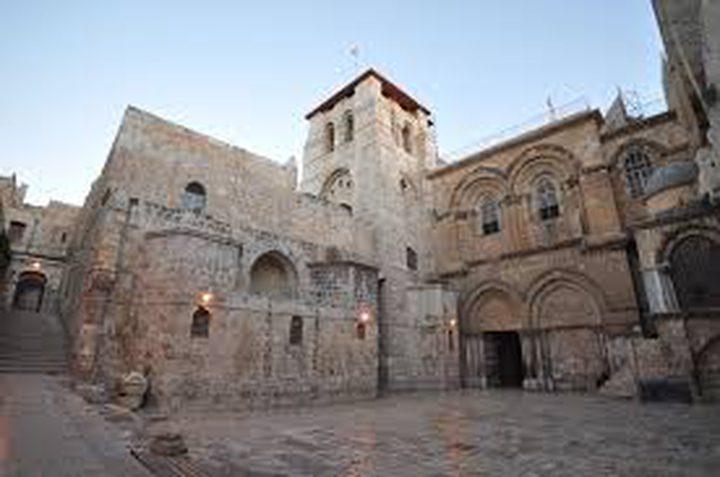 إعادة فتح كنيسة القيامةغداالاحد مع الالتزام بإجراءات السلامة