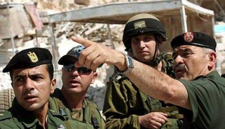 ضابط كبير في جيش الاحتلال يحذر من خطورة وقف التنسيق الأمني