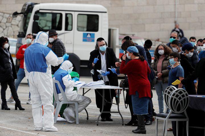 29 إصابة جديدة بفيروس كورونا في دولة الاحتلال