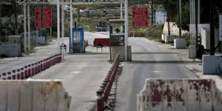 """الاحتلال يغلق حاجز """"بيت ايل"""" شمال البيرة للخارجين من المحافظة"""