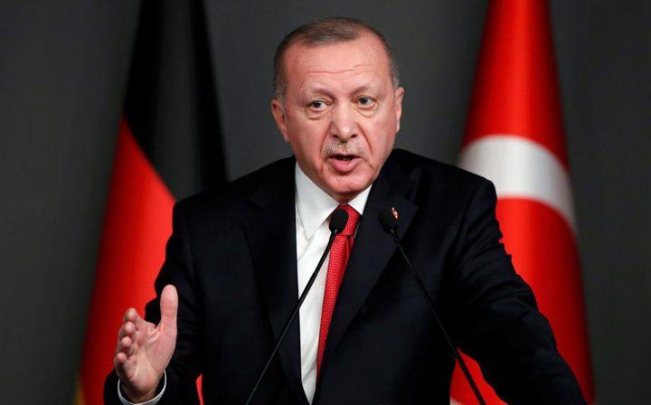 أردوغان: تركيا لن تقبل بمنح الاراضي الفلسطينية لأحد