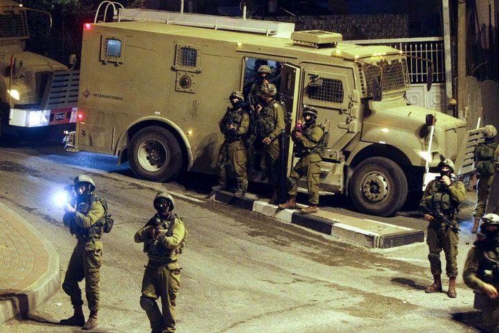 قوات الاحتلال تعتقلشابا من المغير شرق رام الله