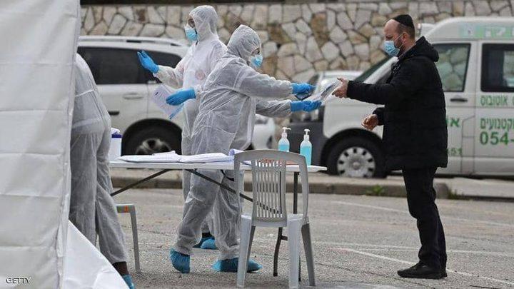 عدد الاصابات بفيروس كورونا في دولة الاحتلال يصل إلى 16757 حالة
