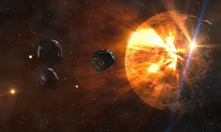 علماء يكشفون عن التصادمات الكونية التي شكلت نظامنا الشمسي