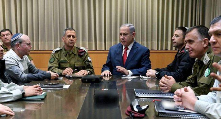 """جيش الاحتلال والشاباك يجتمعان لمناقشة خطة """"لعبة الحرب"""""""