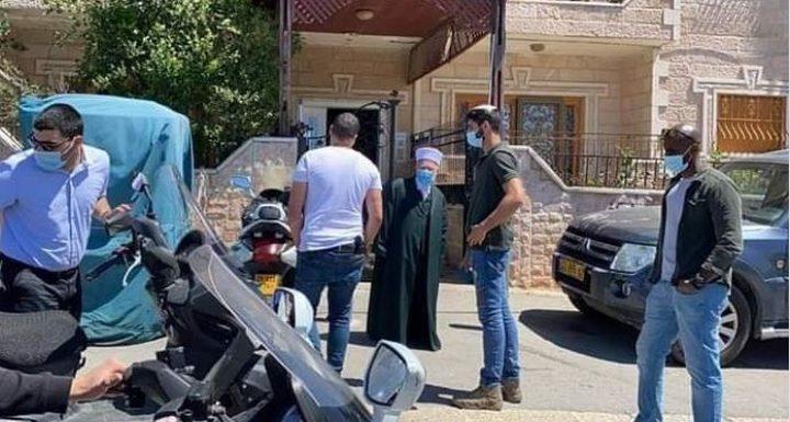 قوات الاحتلال تعتقلالشيخ عكرمة صبري