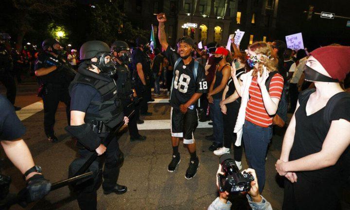 ترامب يحرّض على قتل المتظاهرين في الولايات المتحدة