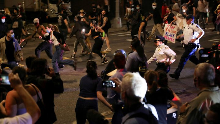 أميركا: اعتقال 200 شخص شاركوا في الاحتجاجات بعد مقتل فلويد