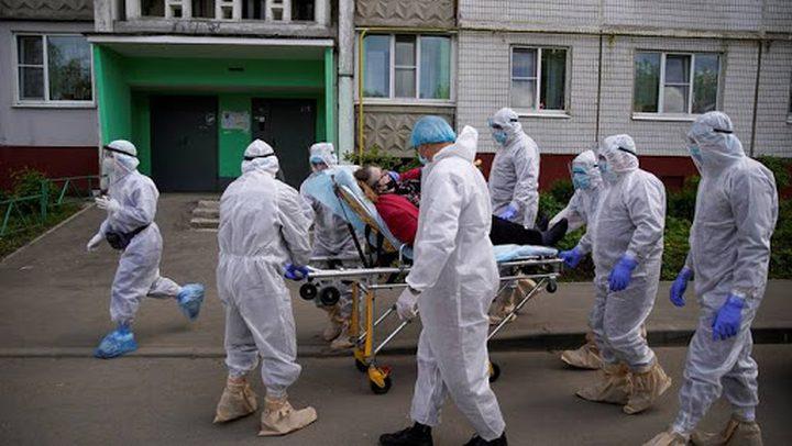 إصابات كورونا تتجاوز الـ400 ألف في روسيا