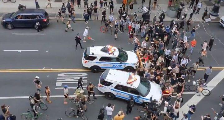 """""""امنستي"""": الشرطة الأميركية لا تحترم الحق في الاحتجاج السلمي"""