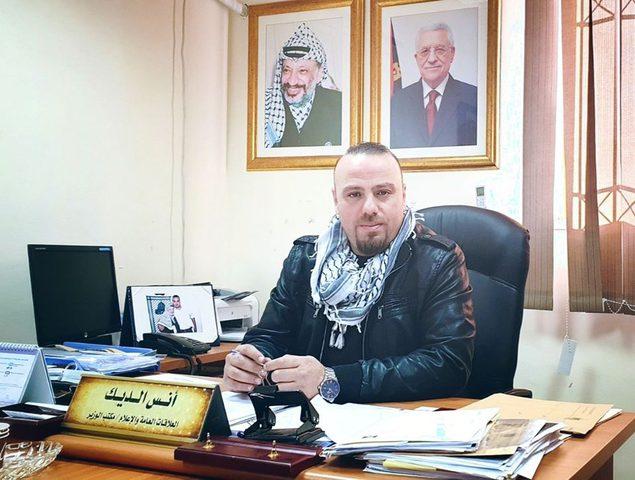 تعيين انس الديك رئيسا لوحدة العلاقات العامة والاعلام بوزارة الصحة